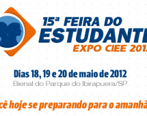15ª Feira do Estudante – EXPO CIEE 2012