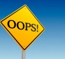 10 erros na hora de estudar para concursos públicos