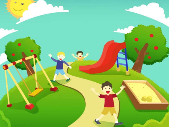 Crianças Se Divertindo No Parque: 10 Parques Gratuitos Para Pais E Filhos Se Divertirem