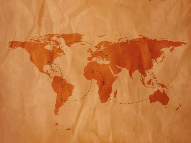 mapa-mundi-em-papel-antigo