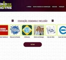 Canal do Ensino é indicado ao Prêmio Influenciadores Digitais