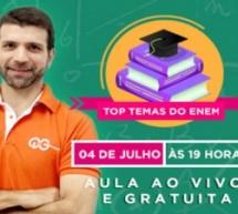 Aula ao vivo e gratuita de história do Brasil para o Enem