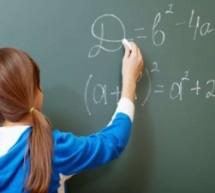 Aprenda álgebra com números inteiros