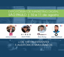Expo Fórum de Marketing Digital 2016 está com as inscrições abertas