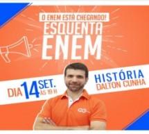 Na reta final para o Enem, QG do Enem oferece maratona de aulas ao vivo e gratuitas de revisão
