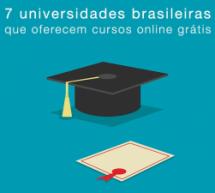 7 universidades brasileiras que oferecem cursos online grátis
