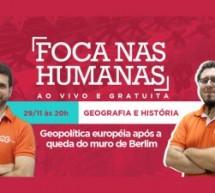 Aula ao vivo e gratuita sobre mudanças geopolíticas na Europa