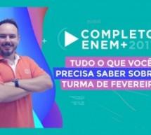 Planejamento de estudos ENEM 2017: curso online ao vivo e gratuito