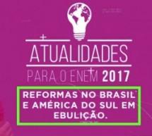 Curso Online Oferece Aula Gratuita Sobre as Reformas Que Têm Acontecido no Brasil