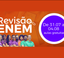 A 3 meses da prova do ENEM, empresa de cursos online oferece semana de revisão online e gratuita