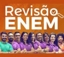 A 4 meses da prova do ENEM, curso online oferece semana de revisão online e gratuita