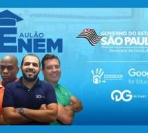 QG do Enem oferecem aulão de preparação para o ENEM gratuitamente