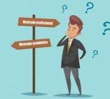 Qual a diferença de mestrado profissional e mestrado acadêmico?