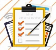 Quais informações estão no edital do Concurso público?