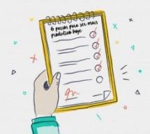 Curso grátis com 5 passos para ser mais produtivo hoje