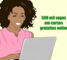 MEC abre inscrições para mais de 500 mil vagas em cursos gratuitos online
