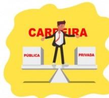 9 diferenças entre a carreira pública e a privada