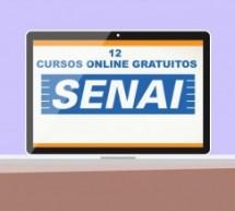 Senai abre inscrição para 12 cursos online gratuitos
