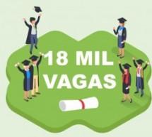 Univesp abre inscrição para 18 mil vagas em cursos de graduação gratuitos