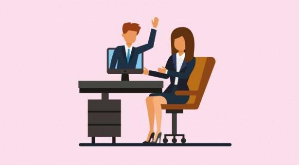 Como você pode treinar para uma entrevista virtual