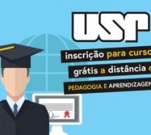 USP abre inscrição para curso grátis a distância de Pedagogia e Aprendizagem