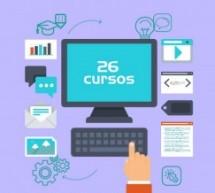 26 cursos de capacitação gratuita para o mercado de trabalho
