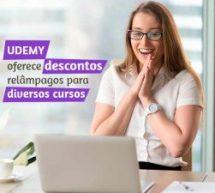 UDEMY oferece descontos relâmpagos para diversos cursos