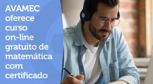 AVAMEC oferece curso on-line gratuito de matemática com certificado