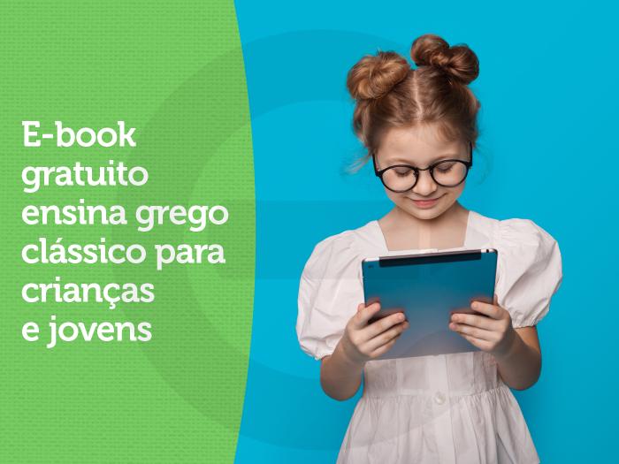 E-book gratuito ensina grego clássico para crianças e jovens