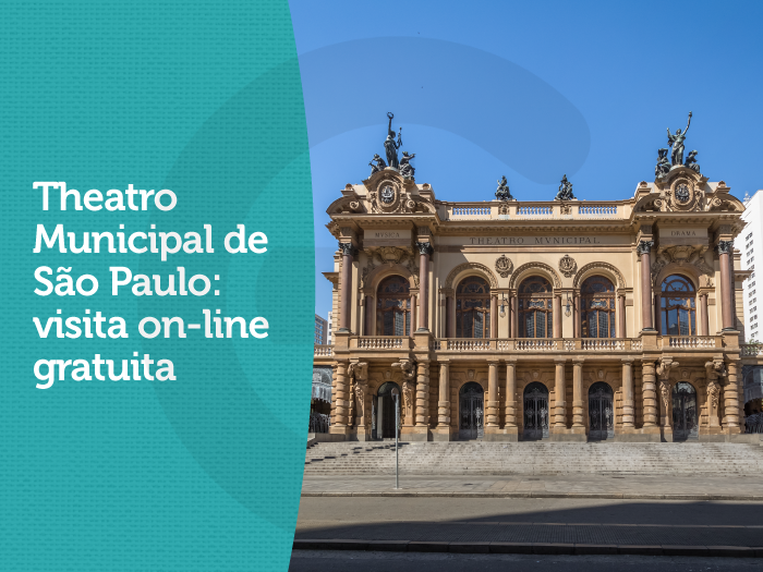 Theatro Municipal oferece visita on-line gratuita